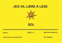 Jeg vil lære å lese - Sol - Bokmål