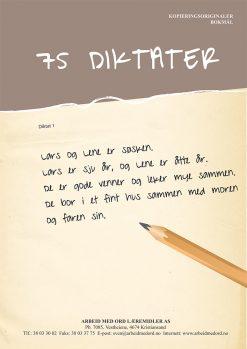 75 diktater
