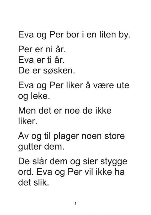 Eva og Per - Bok 1 - Den lure planen_2