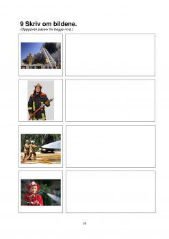 Fokus på skriving - hefte 3 - På brannstasjonen - Tekst 1B side 4