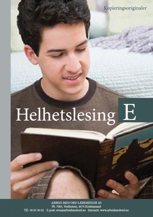 Helhetslesing - E