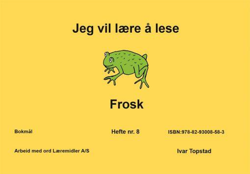 Jeg vil lære å lese - Frosk - Bokmål