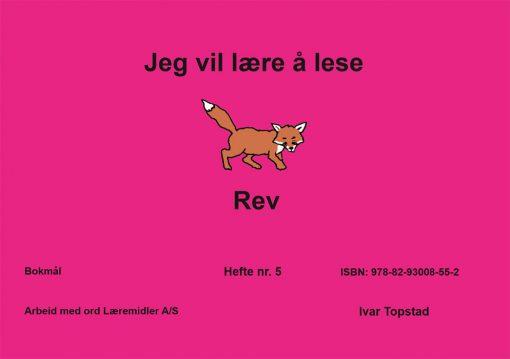 Jeg vil lære å lese - Rev - Bokmål