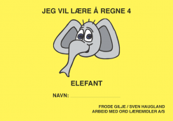 Jeg vil lære å regne - Elefant - Bokmål