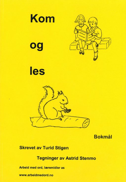 Kom og les - Ekorn - Bokmål