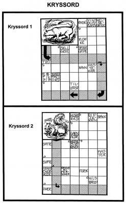 Kryssord - 1-2
