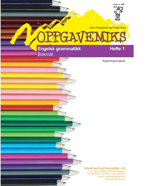 Oppgavemiks - Engelsk - Grammatikk 1 - Bokmål
