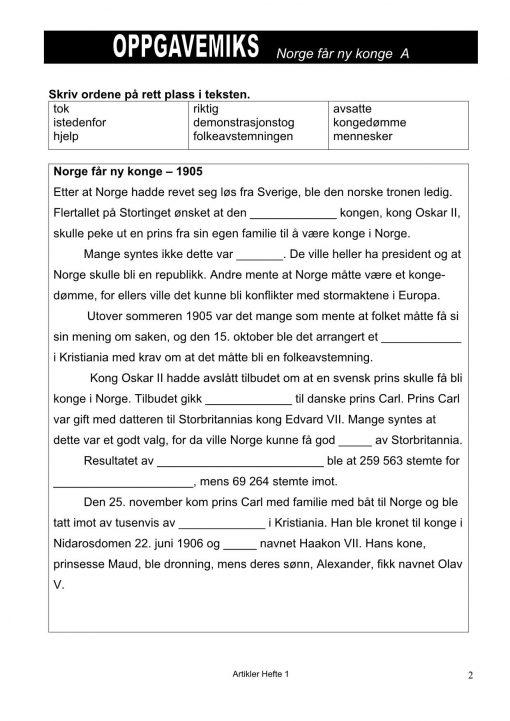 Oppgavemiks - Norsk - Artikler_10