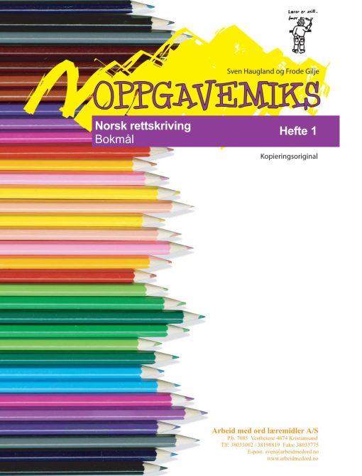 Oppgavemiks - Norsk - Rettskriving 1 - Bokmål