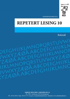 Repetert lesing 10 - Bokmål