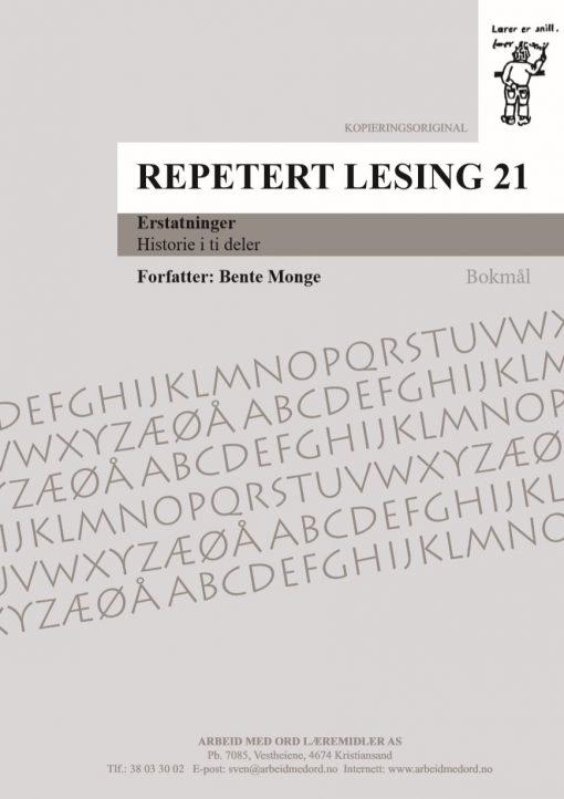 Repetert lesing 21 - Bokmål