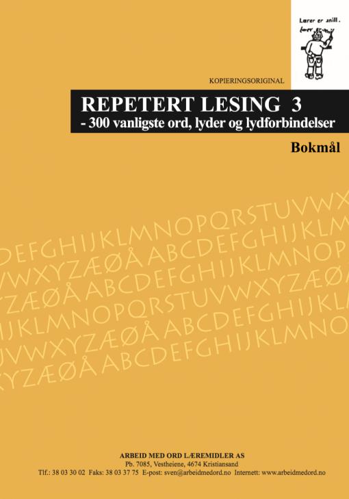 Repetert lesing 3 - Bokmål