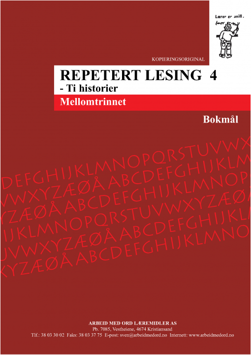 Repetert lesing 4 - Bokmål