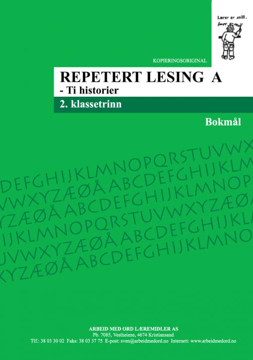 Repetert lesing A - Bokmål