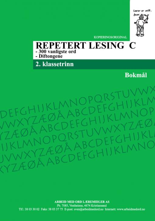 Repetert lesing C - Bokmål