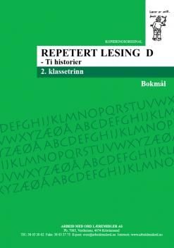 Repetert lesing D - Bokmål