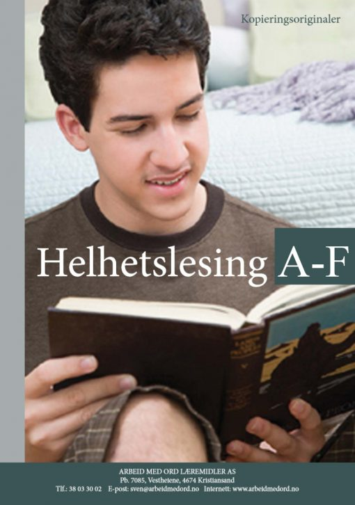 Helhetslesing - A-F