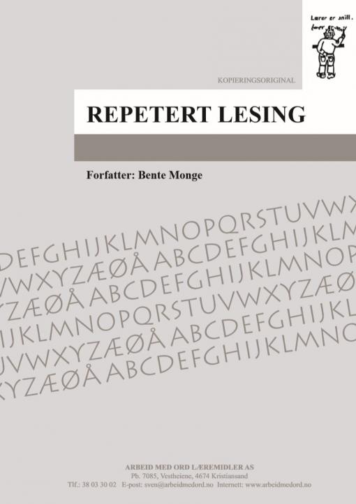 Repetert lesing 18-21
