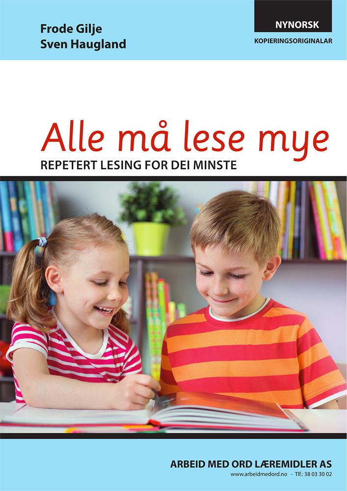 Alle må lese mye - nynorsk