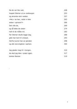 Eksempel #3 for Leseutvikling - 3 kl. prøve - Vinter