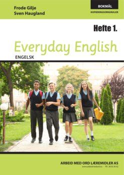 Forsiden av Everyday English - Hefte 1 - Bokmål