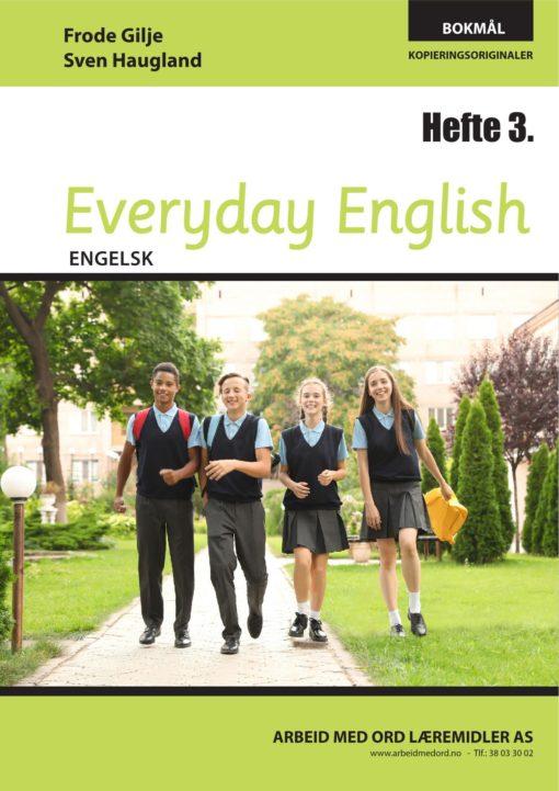 Forsiden av Everyday English - Hefte 3 - Bokmål