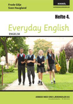 Forsiden av Everyday English - Hefte 4 - Bokmål
